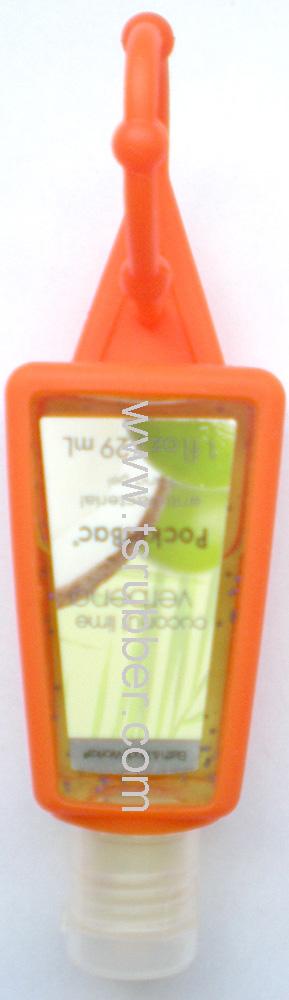 29ml Hand Sanitizer Silicone Holder (Orange)