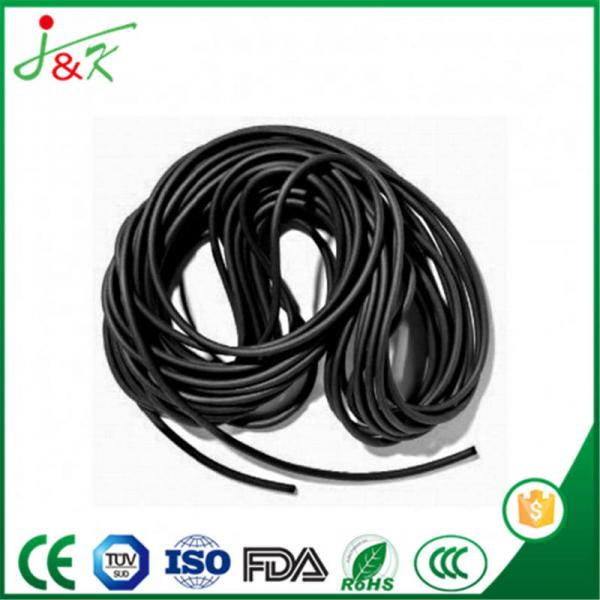 High Quality Black FKM/Viton Rubber Cords &Sealing Strips
