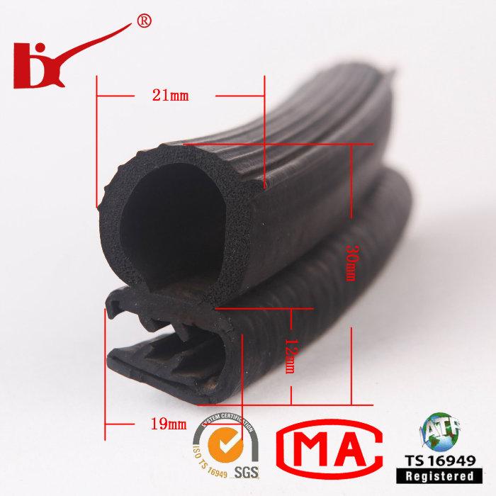 Auto Parts Durable Rubber Protective Strips