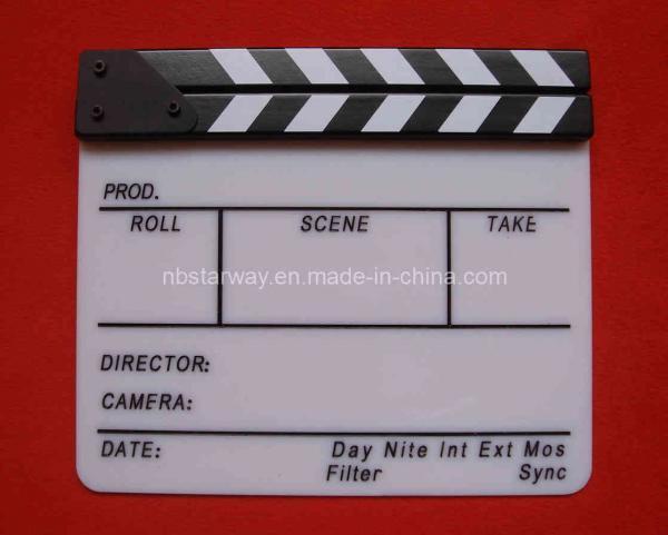 Кинохлопушка из бумаги своими руками 75