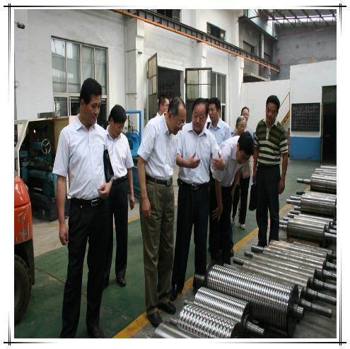 Nickel Chrome Molybdenum Alloy Rolls for Plastic Machine