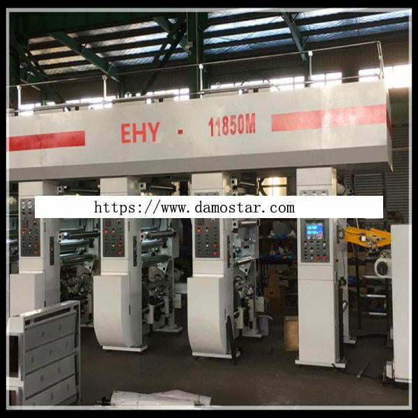 High-Speed Intaglio Printing Machine for Plastic Film and Paper