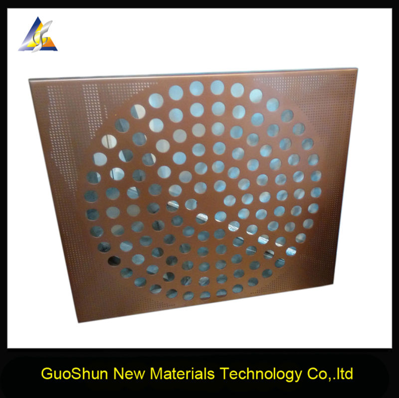 China Manufacture Sound Insulation Decoration Material Aluminum Ceiling Panel