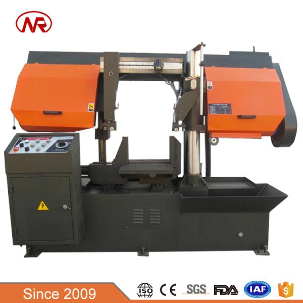 Double Column Large For Sale Power Max Semi Automatic Hydraulic Metal Cutting Band Saw Speed