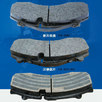 Wholesale and retail high performance semi metal China brake pad