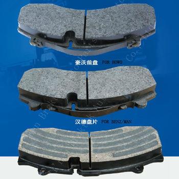 Wholesale and retail high performance semi metal China brake pad