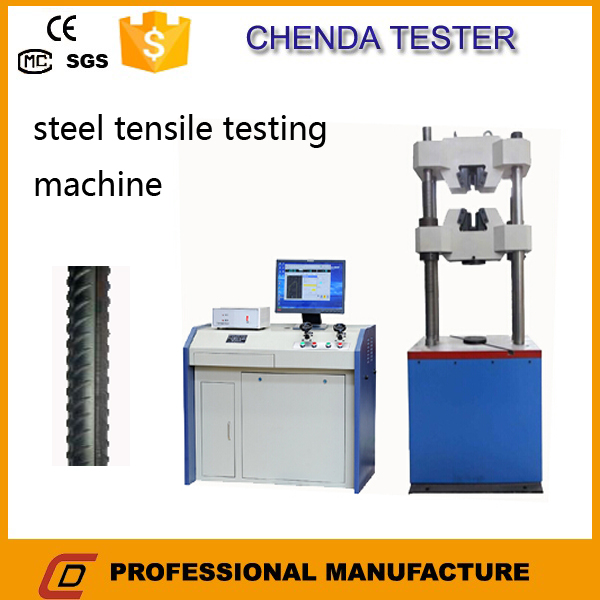 300kn Computerized Hydraulic Tensile Strength Testing Machine